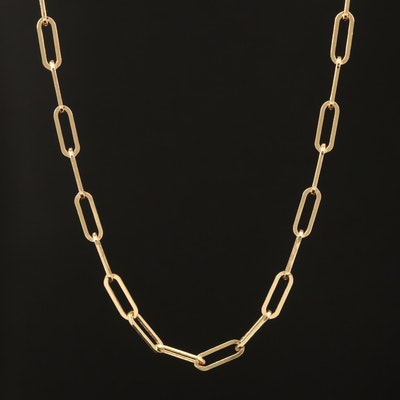 EFFY 14K Oval Cable Chain