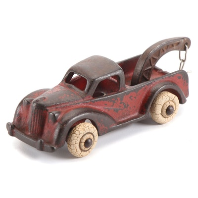 Arcade Mfg. Co. Cast Iron Tow Truck, Early 20th Century