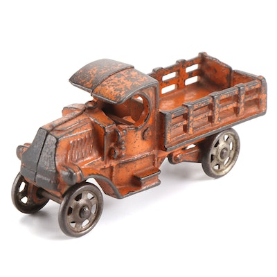 A.C. Williams Cast Iron Stake Truck, Early 20th Century