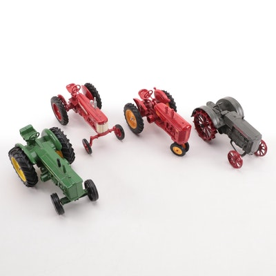 Ertl Case, John Deere, International Harvester and Other Die-Cast Tractors