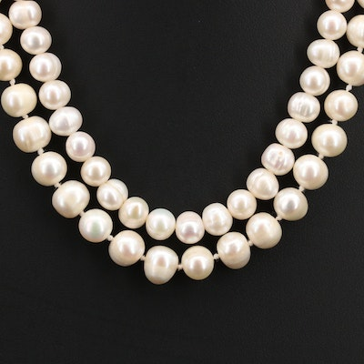 Pair of Pearl Necklaces