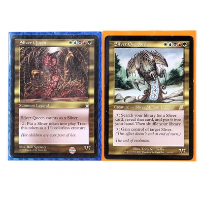 """""""Magic: The Gathering"""" Trading Cards Including """"Sliver Queen"""""""