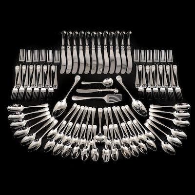 "Kirk Stieff ""Williamsburg Royal Shell"" Stainless Flatware, 1993–2007"