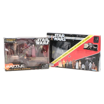 Star Wars Legacy Pack and Battle Pack Jedi vs. Darth Sidious