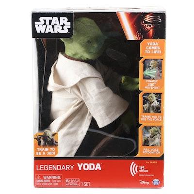 Disney Star Wars Legendary Jedi Master Yoda, Collector Box Edition
