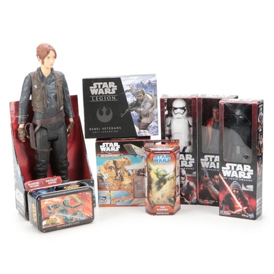 Star Wars Action Figures Including Jyn Erso, Finn, Kylo Ren and More