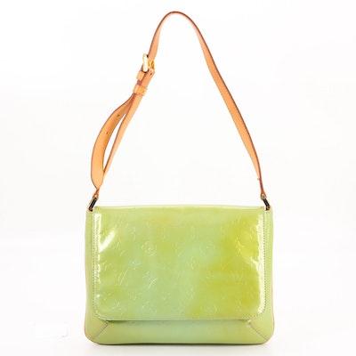 Louis Vuitton Thompson Street Front Flap Bag in Monogram Vernis