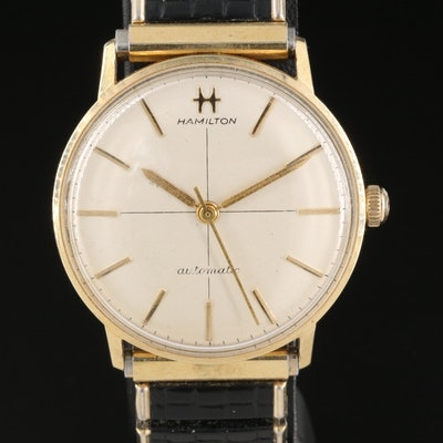 14K Hamilton Automatic Wristwatch