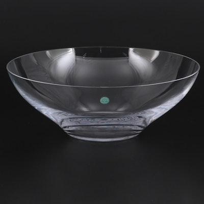 """Tiffany & Co. """"Harmony"""" Crystal Serving Bowl"""