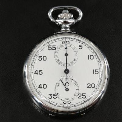 Swiss Aristo Valjoux 61 Chronograph Stop Watch