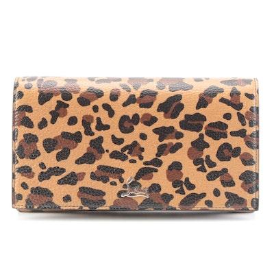 Christian Louboutin Boudoir Chain Belt Bag in Leopard Print Calfskin Leather