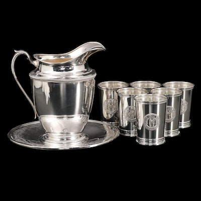 """Gorham """"Honorable Order Kentucky Colonels"""" Mint Julep Cups and Other Serveware"""