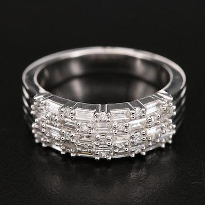 14K 0.82 CTW Diamond Ring