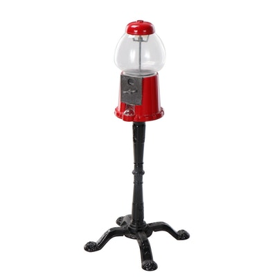 Carousel Vintage Style Gumball Machine with Stand