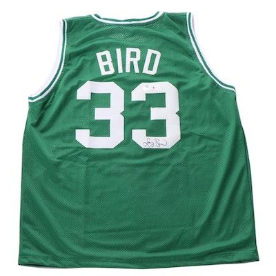 """Larry Bird Signed """"Legends Bird 33"""" Jersey, COA"""