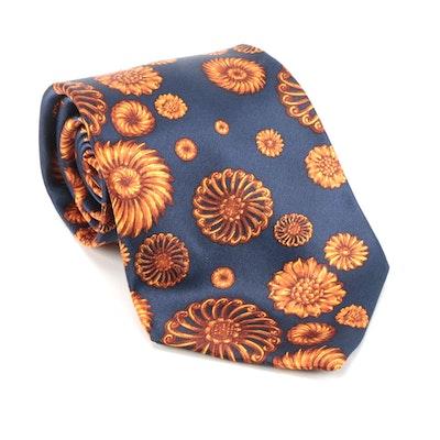 Men's Lanvin Printed Silk Necktie
