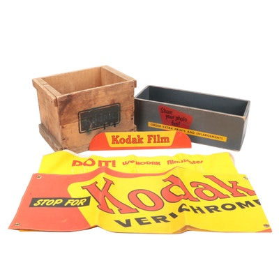Kodak Retail Advertising Signs and Collectibles