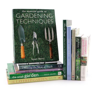 """""""The Essential Guide to Gardening Techniques"""" and Other Gardening Books"""