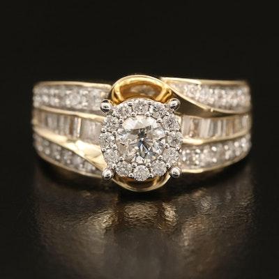 14K 1.17 CTW Diamond Ring