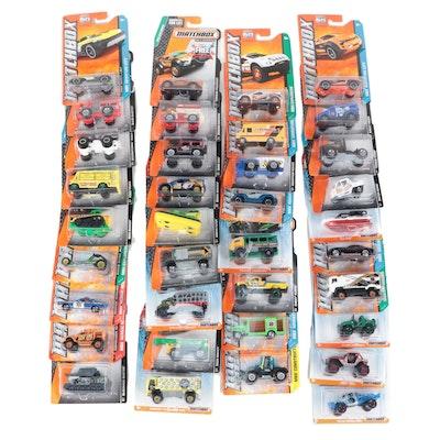 Mattel Matchbox Cars Featuring Jurassic World and MBX Construction Series