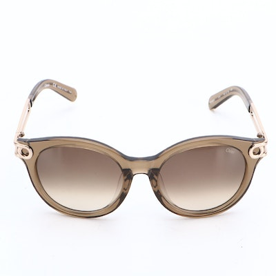 Chloé CE709SA Round Sunglasses in Taupe with Case