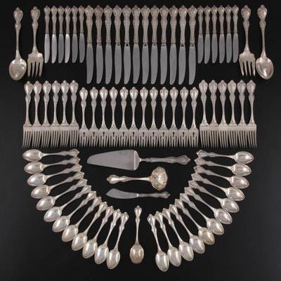 """Towle """"Debussy"""" Sterling Silver Flatware, Mid to Late 20th Century"""