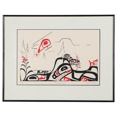 "Art Wilson Serigraph ""Precendence"""