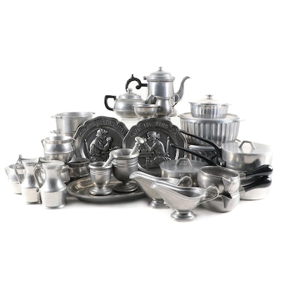 """Wilton """"Plough Tavern"""" Serveware, with """"Ionic"""",  """"Mary Bond"""" and Other Tableware"""
