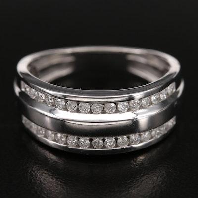 Sterling 0.50 CTW Diamond Band