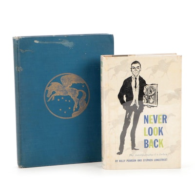 """Signed First Printing """"Never Look Back"""" by Billy Pearson and More"""