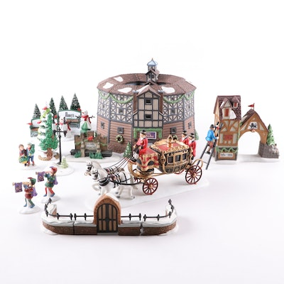 """Department 56 """"Dickens' Village"""" and More Porcelain Buildings and Accessories"""