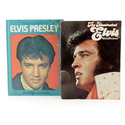 """""""The Illustrated Elvis"""" by W. A. Harbison and More, Mid to Late 20th Century"""