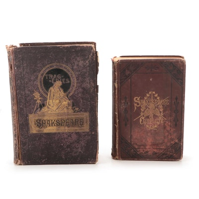 """""""The Works of Shakespeare"""" Collections, Late 19th Century"""