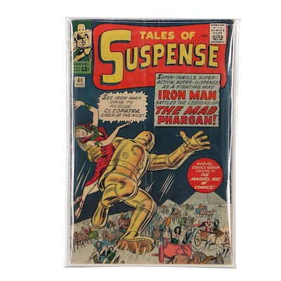 """Silver Age Marvel """"Tales of Suspense"""" #44, Featuring First Gold Armor Iron Man"""