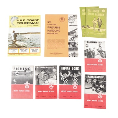 Hunting and Fishing Handbook Collection, Mid-20th Century