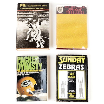 """Signed """"The Paul Brown Story"""" by Paul Brown and More Signed Football Books"""