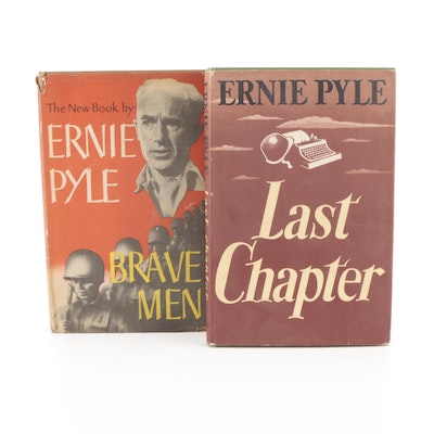 """First Printing """"Last Chapter"""" and More by Ernie Pyle, Mid-20th Century"""