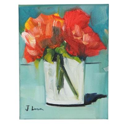 José M. Lima Still Life Oil Painting, 2021