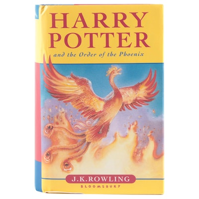 """First UK Edition """"Harry Potter and the Order of the Phoenix"""" by J. K Rowling"""