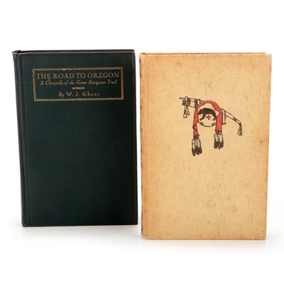 """First Edition """"The Road to Oregon"""" with """"The Oregon Trail,"""" Early/Mid 20th C."""