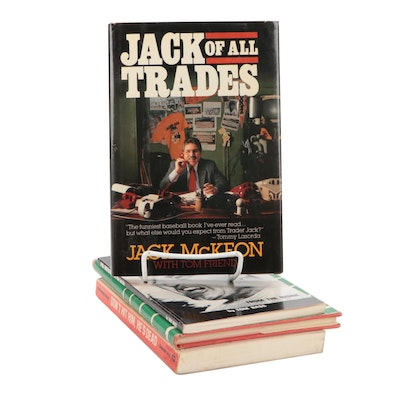 """Signed """"Jack of All Trades"""" by Jack McKeon and More Signed Sports Books"""