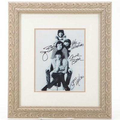 Lovin' Spoonful Signed and Framed Photo Print, COA