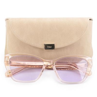 Chloé CE760S Translucent Sunglasses with Case