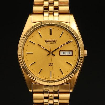 Seiko Quartz Day/Date Wristwatch