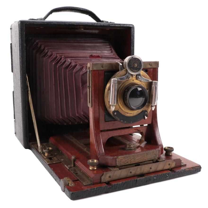 Folmer Schwing Mfg. Co. Graflex Graphic Large Format Folding Camera