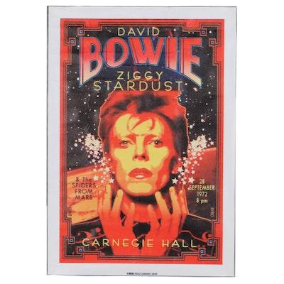 "Giclee After David Edward Byrd ""Bowie/Ziggy at Carnegie Hall 1972,"" 21st Century"