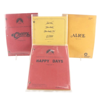 """Sitcom Episode Scripts Including """"Cheers"""" and """"Happy Days"""""""