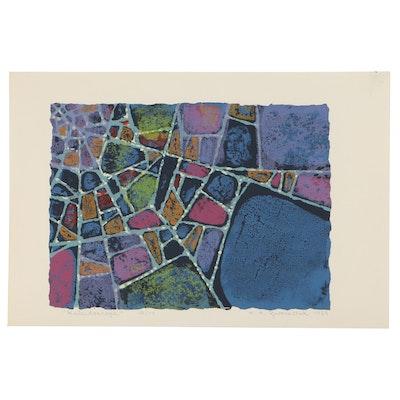 "H.H. Zwonechek Serigraph ""Kaleidoscope,"" 1959"