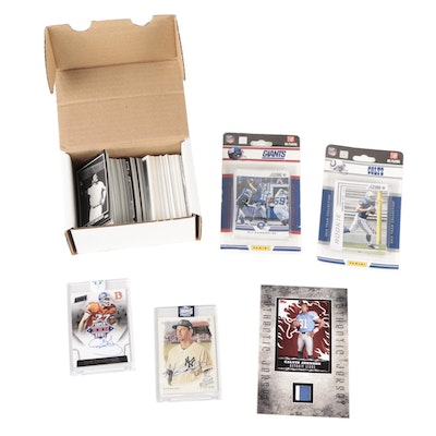 2015 Karl Mecklenburg Panini Autograph, Calvin Johnson Jersey Relic, and More