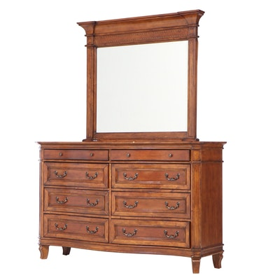 Liberty Furniture French Provincial Style Cherrywood Eight-Drawer Dresser